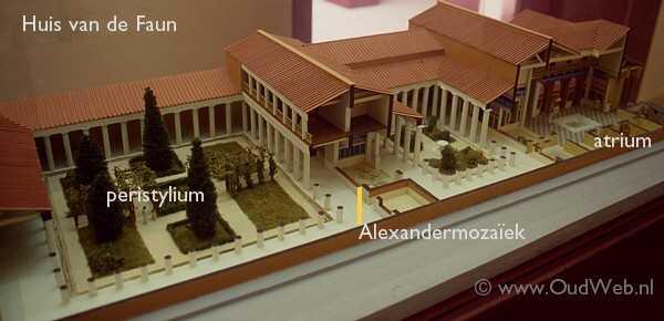 Oudweb pompeii huis van de faun oudweb - De gevels van de huizen ...